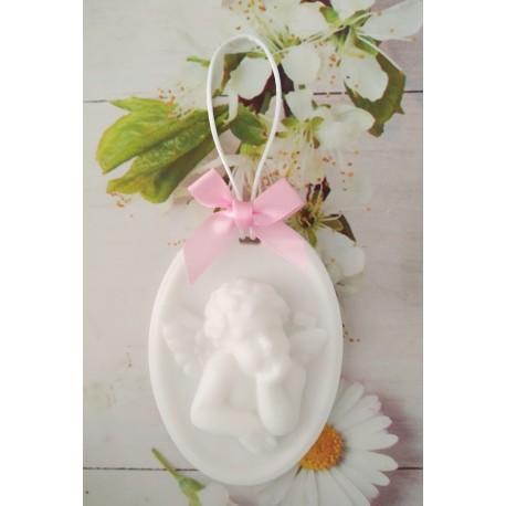 Jabón medallón ángel
