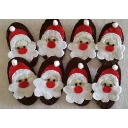 Broche Papá Noel