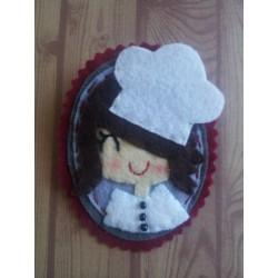 Broche Cocinera