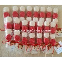 Brochetas Rosas