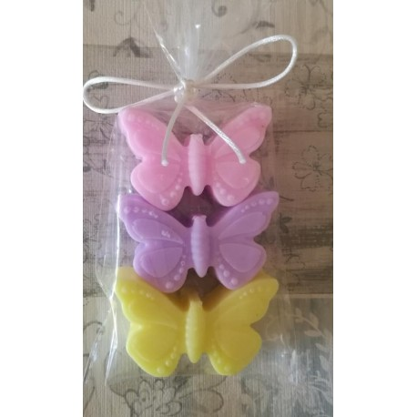 Jabones mariposa