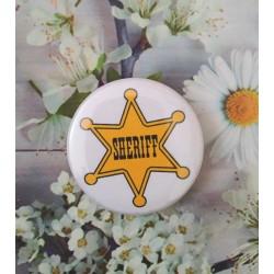 Chapa o Imán Sheriff