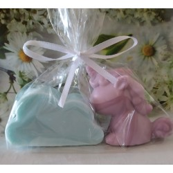 Jabón nube + unicornio